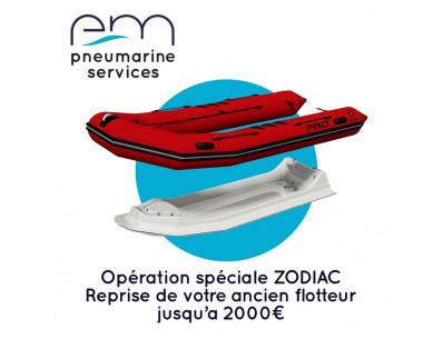 Reprise flotteur ZODIAC